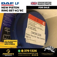DAF LF NEW PISTON RING SET 4C/6C