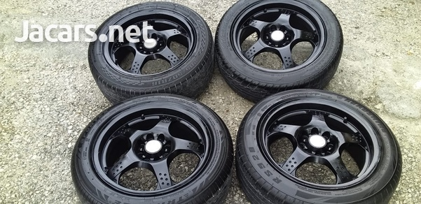 16 inch rims and tyres use in good condition