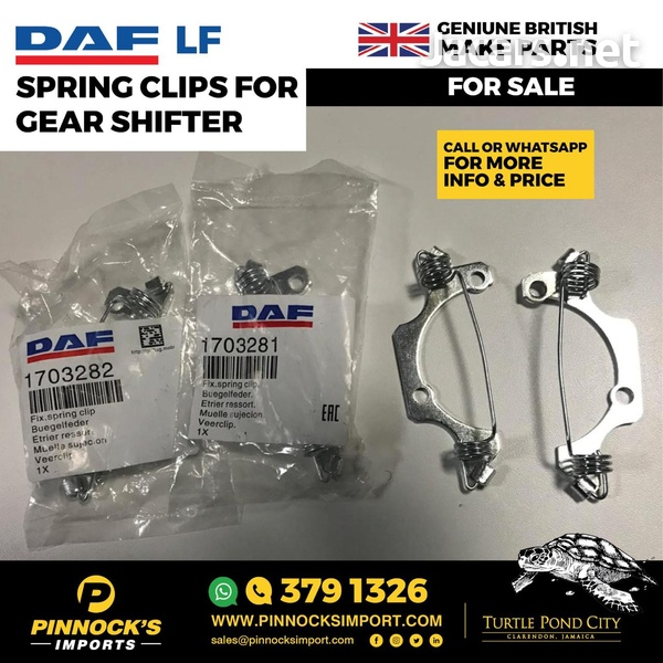 DAF LF SPRING CLIPS FOR GEAR SHIFTER