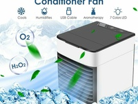 Portable Mini Cooler Cooling Fan Humidifier Artic