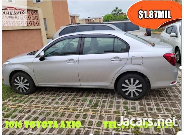 Toyota Axio 1,6L 2016-8
