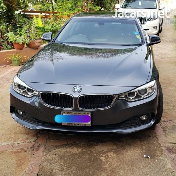 BMW 4-Series 2,0L 2016-2