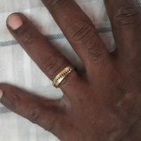 MALE WEDDING GOLD BAND