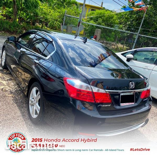 Honda Accord 2,0L 2015-7