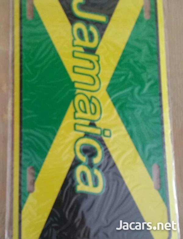 Jamaica License Plates-2