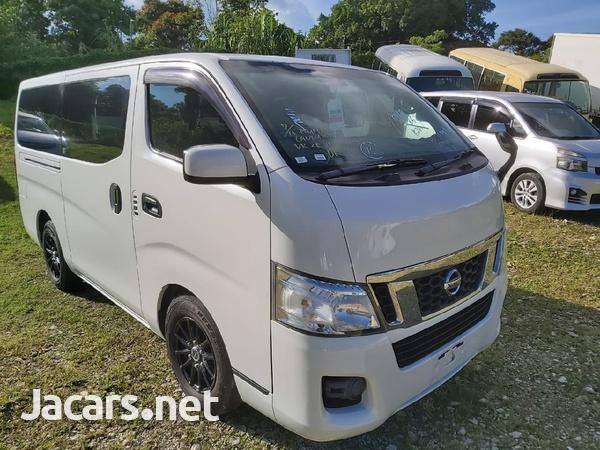 White 2013 Nissan Caravan-1