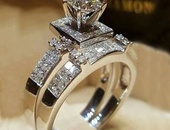 Female and Male couples ring