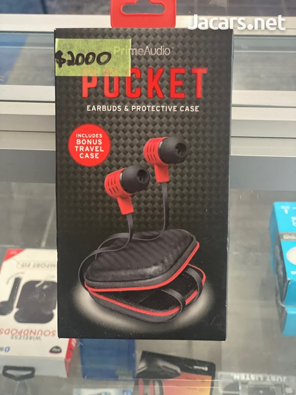 Bluetooth earpiece and case-1