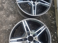 Mercedes Benz AMG rims