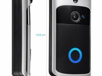 Wireless Door Bell with built in camera- 2 way audio
