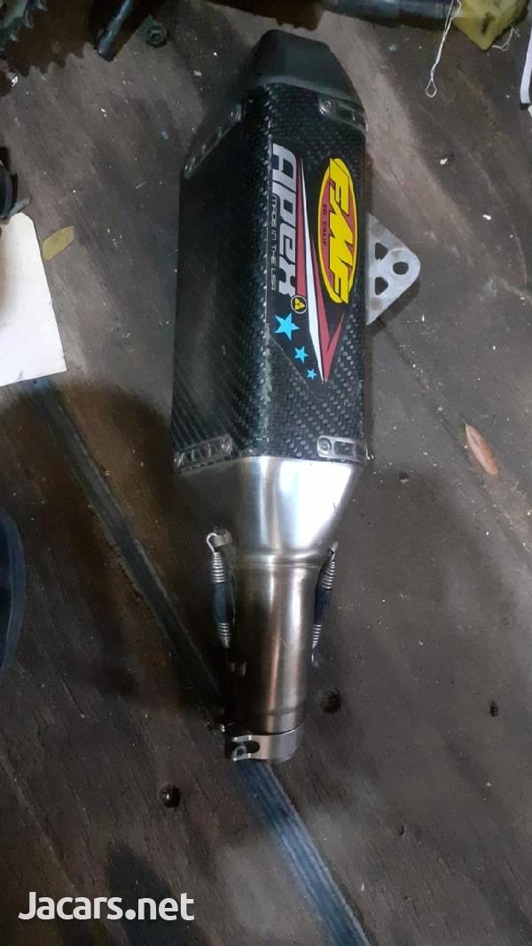gsxr 600 slip on exhaust