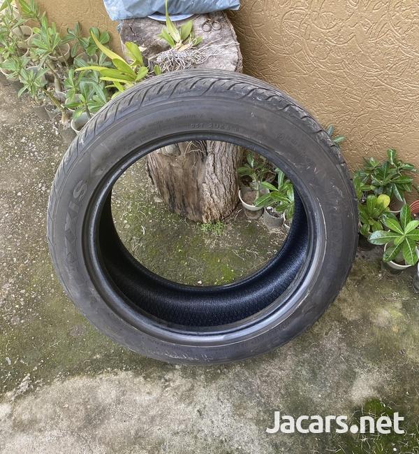 Car Tire size 225/50 ZR17-5