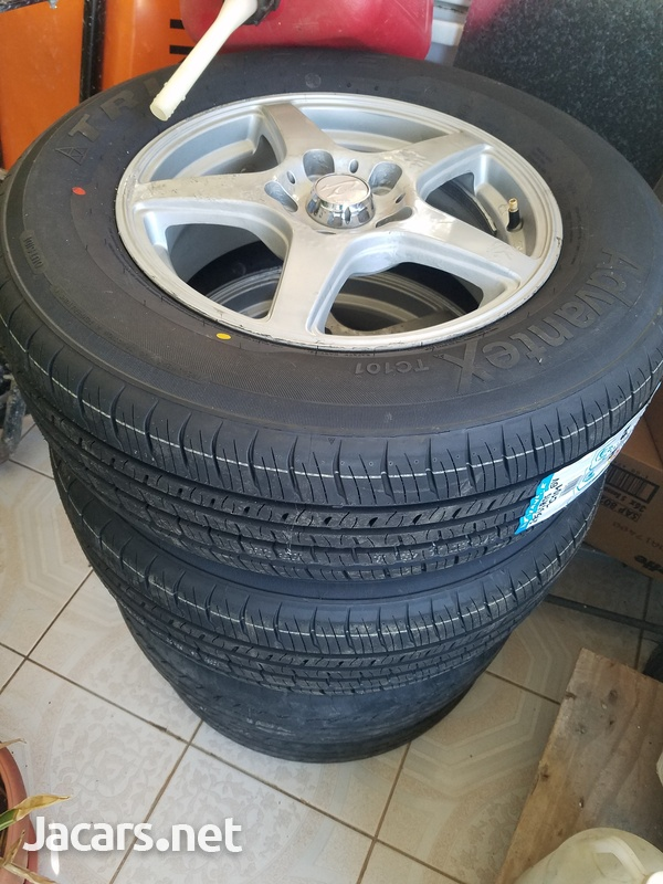 4 x 15 inch rim and tyre-3