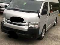 Toyota Hiace Bus 2,5L 2017