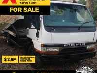 Mitsubishi Canter 2 Car Transporter Truck 2001
