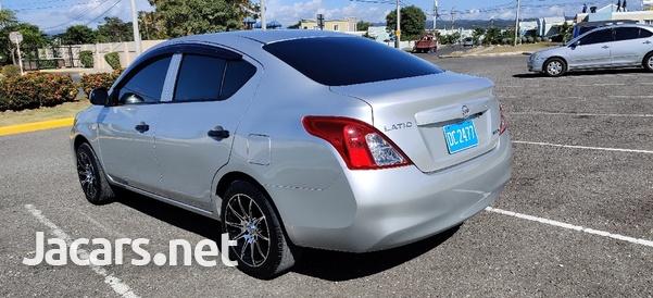 Nissan Latio 1,3L 2015-4