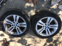 BMW rims 17 Inch with tyre fit Subaru,Benz ,Audi and Volkswagen
