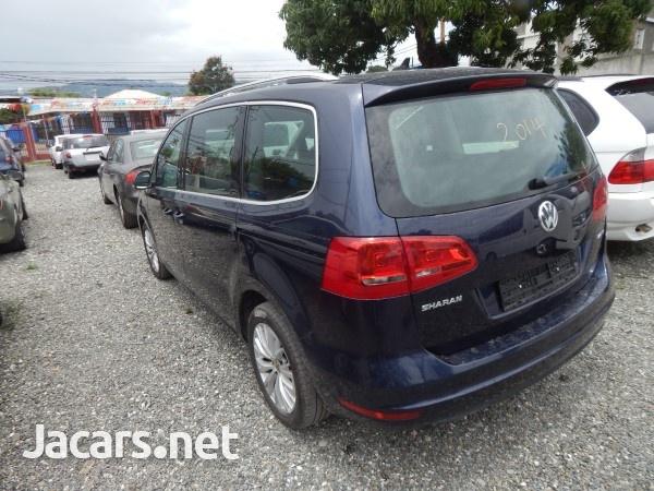 Volkswagen Sharan 1,8L 2014-2