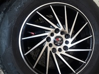 15 inches new tyres set of 4. 5lug