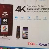 Brand New 4K Smart TV Damage/Parts
