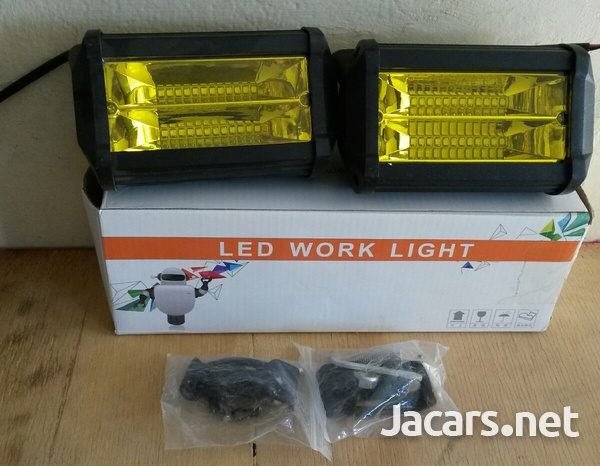 led yellow fog lamps