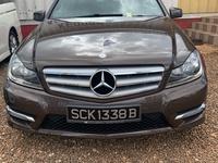 Mercedes-Benz C-Class 1,5L 2013