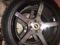 4 Rim And 4 Tyre