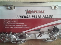 license frame Scorpion