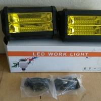 led yellow fog lamps