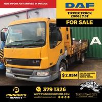 DAF Tipper Truck 2006 7.5T