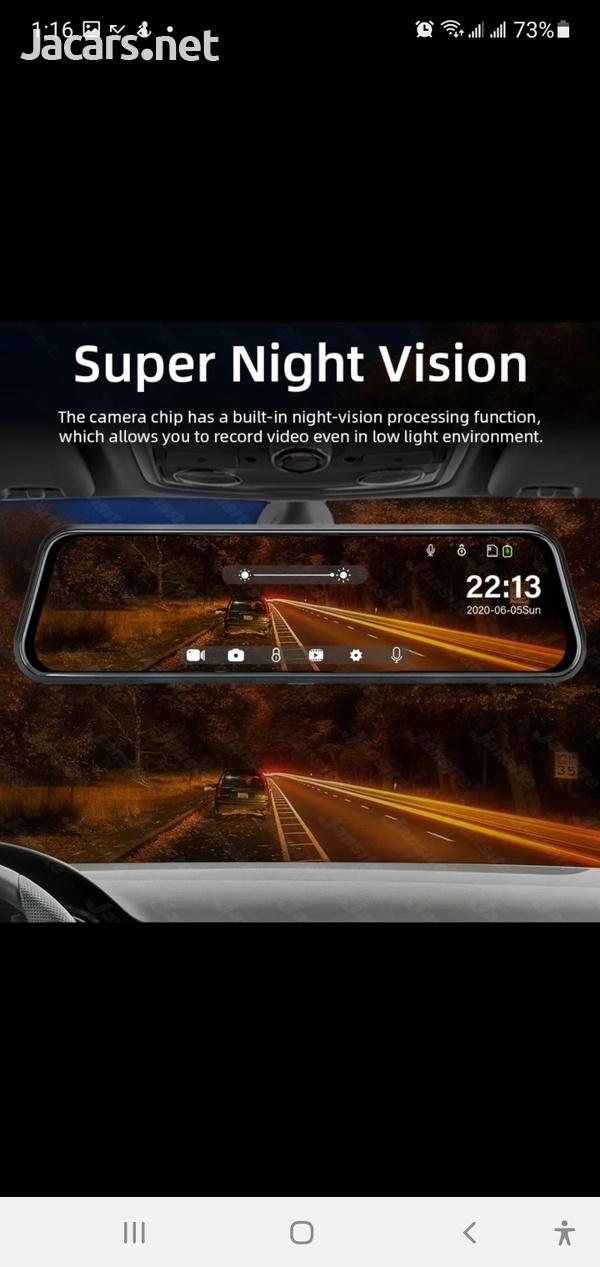 10inch Touch Screen Google Dash Cam-1