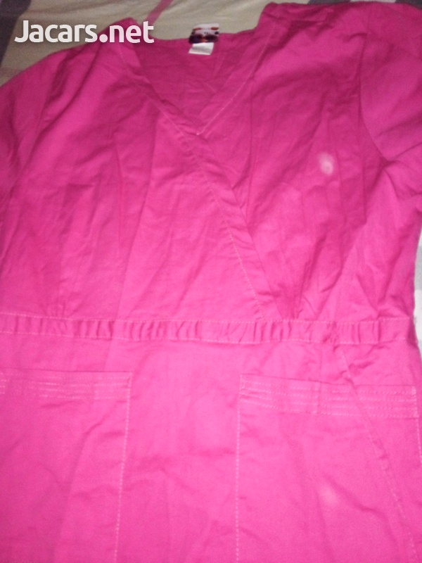 Get all your Scrubs, and Jackets contact Stacey . Delivery in Halfway tree area.-2