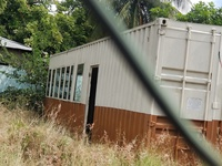 40 ft Container with windows and doors already cut/ Retro fitted