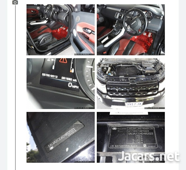 Land Rover Range Rover Evoque 2,2L 2014-1