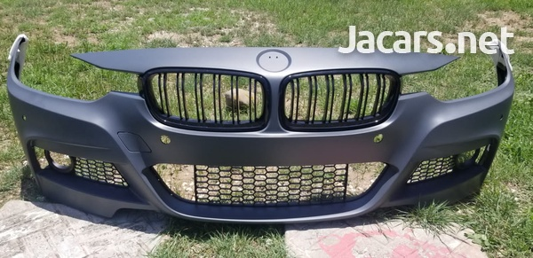 BMW M Style front bumper+grill-2