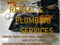plumbing/Tool rental