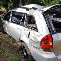 Crashed Toyota Corolla 1,8L 2003