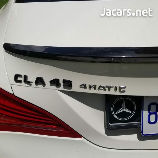 Mercedes-Benz CLA-Class 2,5L 2014-15