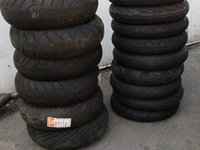 Used bike tires
