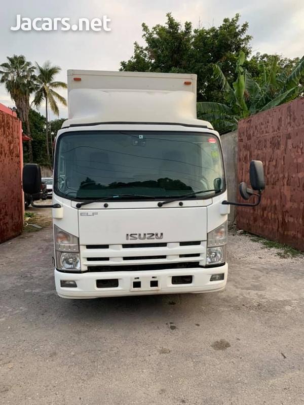 Isuzu Box Body Truck 4,0L 2012-1