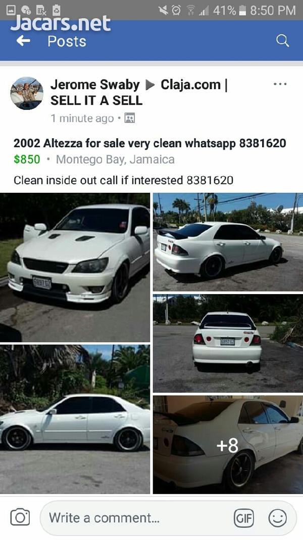 Toyota Altezza 2,0L 2002-1