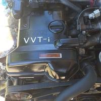 Engine with wireloom, transmission and ECU