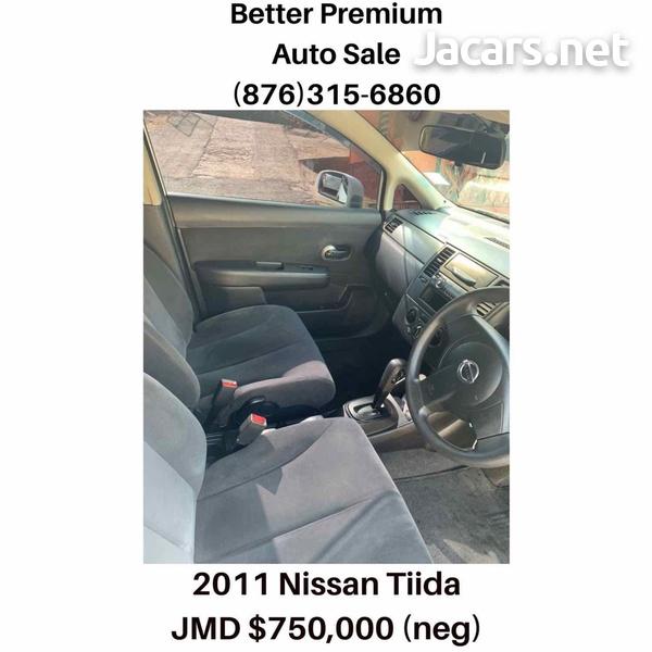Nissan Tiida 1,6L 2011-6