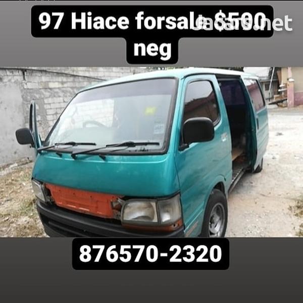 1997 Toyota Hiace Bus-1