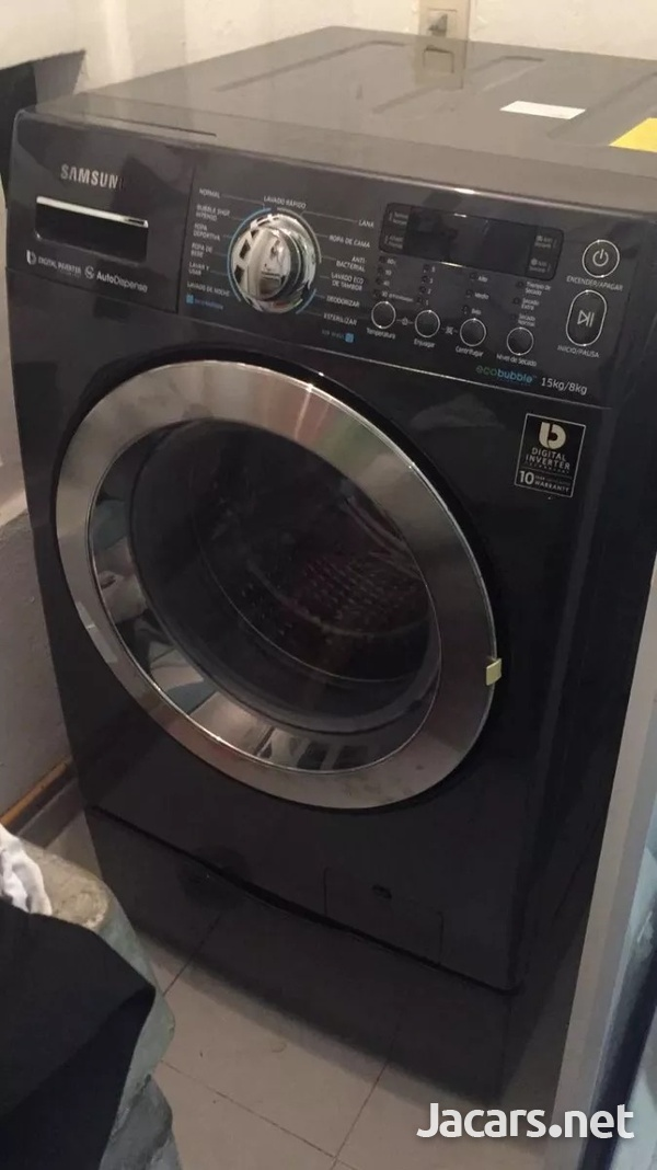 SAMSUNG WASHER AND DRYER COMBO-2