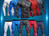 Men's Sportswear Compression Shirt andTights
