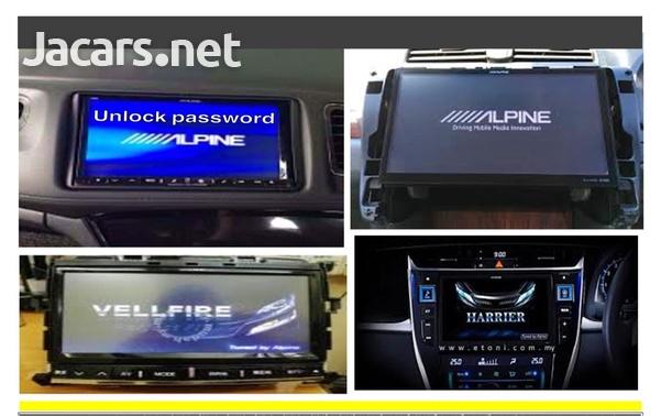Alpine Radio/Navigation Players Unlock Code-5