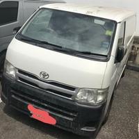 White 2014 Toyota Hiace