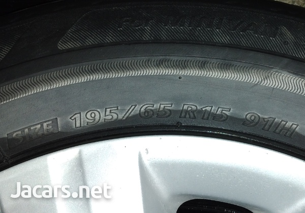 Honda/ Toyota Rims and Tires 5X114.3-4