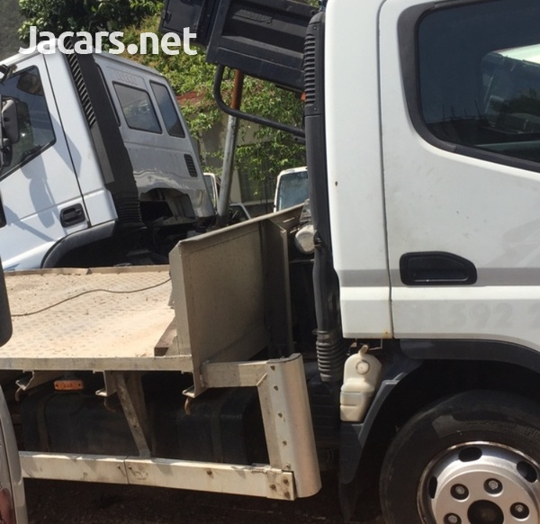 2009 Mitsubishi Canter FlatBed Truck-5